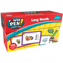 TCR6102 - Power Pen Learning Cards Long Vowels in Grammar Skills
