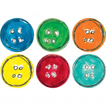 TCR62013 - Pete The Cat Carpet Markers Spot On Groovy Buttons in Classroom Management