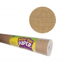 TCR6330 - Burlap Better Than Paper  4/Ct in Bulletin Board & Kraft Rolls