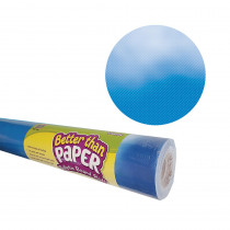 TCR6332 - Clouds Better Than Paper  4/Ct in Bulletin Board & Kraft Rolls