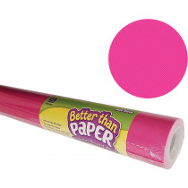 TCR6337 - Hot Pink Better Than Paper 4/Ct in Bulletin Board & Kraft Rolls