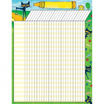 TCR63927 - Pete The Cat Incentive Chart in Incentive Charts