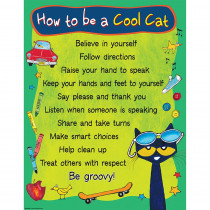 TCR63928 - Pete The Cat To Be Cool Cat Chart in Classroom Theme