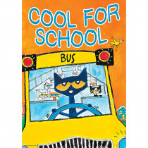 TCR63931 - Pete The Cat Cool For School Poster Positive in Inspirational
