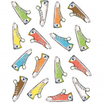 TCR63936 - Pete The Cat Groovy Shoes Stickers in Stickers