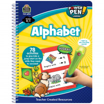 TCR6918 - Power Pen Learning Book Alphabet in Letter Recognition