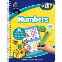 TCR6982 - Power Pen Learning Book Numbers Spiral in Numeration
