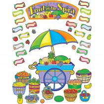 TCR7038 - Fruit Of The Spirit Bulletin Board in Inspirational