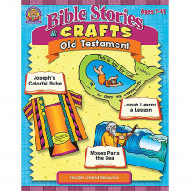 TCR7058 - Bible Stories & Crafts Old Testament in Inspirational
