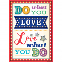 TCR7413 - Do What You Love Positive Poster in Inspirational