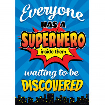 TCR7418 - Superhero Inside Poster in Inspirational
