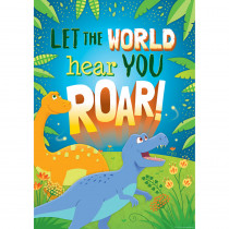 TCR7423 - Let The World Hear You Roar Poster in Motivational