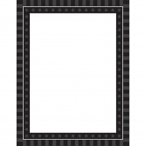 TCR74636 - Black Sassy Solids Chart in Classroom Theme