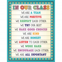 TCR7528 - Marquee In Our Class Chart in Classroom Theme