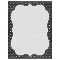 TCR7533 - Chalkboard Brights Blank Chart in Classroom Theme