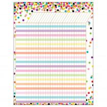 TCR7595 - Confetti Incentive Chart in Classroom Theme