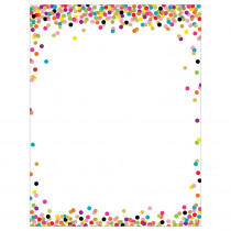 TCR7646 - Confetti Blank Chart in Classroom Theme