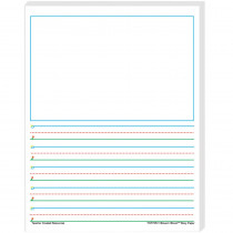 TCR76541 - Smart Start 1-2 Story Paper 100 Sheets in Handwriting Paper