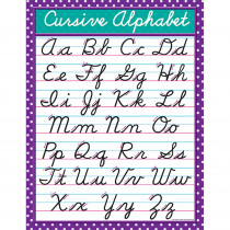 TCR7688 - Cursive Chart in Language Arts