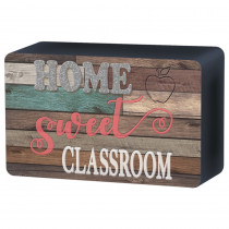 Home Sweet Classroom Magnetic Whiteboard Eraser - TCR77008 | Teacher Created Resources | Erasers