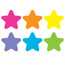 """Spot On Floor Markers, Bright Stars, 4 Carpet - TCR77047 