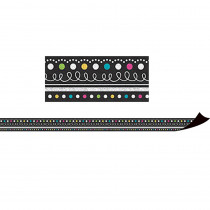 TCR77132 - Chalkboard Brights Magnetic Borders in Border/trimmer