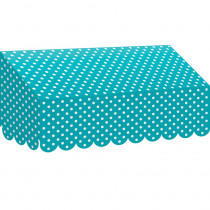 TCR77163 - Teal Polka Dots Awning in Banners