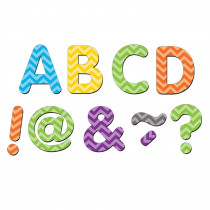 TCR77187 - Chevron Classic 2In Magnetic Letters in Magnetic Letters