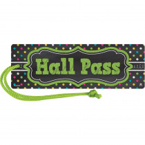 TCR77276 - Chalkboard Brights Magnetic Hall Pass in Hall Passes