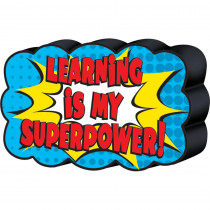 TCR77288 - Superhero Magnetic Whiteboard Eraser in Erasers