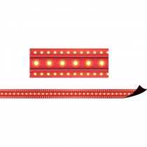 TCR77302 - Red Marquee Magnetic Border in Border/trimmer