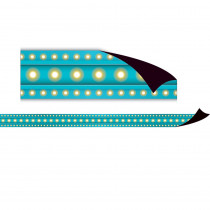 TCR77307 - Light Blue Marquee Magnetic Strips in Border/trimmer