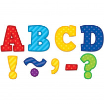 TCR77310 - Playful Patterns Bold Block 3 Magnetic Letters in Letters