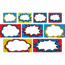 TCR77331 - Clingy Thingies Superhero Labels in Organization