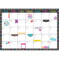 TCR77349 - Clingy Thingies Calendar Set Chalkboard Brights in Calendars