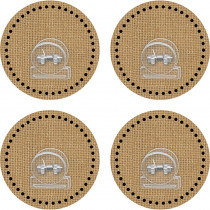 TCR77375 - Clingy Thingies Clips Burlap in Clips