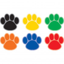 TCR77380 - Paw Prints Carpet Markers Spot On in Classroom Management