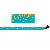 TCR77389 - Teal Confetti Magnetic Border in Border/trimmer