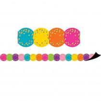 TCR77390 - Confetti Circles Die-Cut Mag Border in Border/trimmer