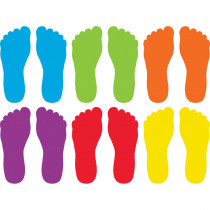 Spot On Footprints Carpet Markers - TCR77470 | Teacher Created Resources | Classroom Management