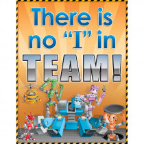 TCR7747 - Robots Teamwork Chart in Classroom Theme