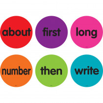 """Spot On Sight Words 51-100 Carpet Markers, 4 - TCR77500 