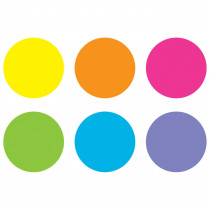 """Spot On Bright Circles Floor Markers, 7 - TCR77534 