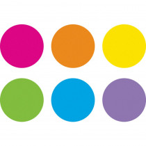 "Spot On Dry-Erase Desktop Writing Spots Bright Circles, 10-1/2 - TCR77539 | Teacher Created Resources | Classroom Management"""