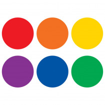 """Spot On Colorful Circles Vinyl Floor Markers, 4 - TCR77544 