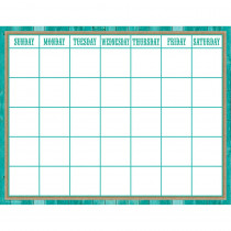 TCR7759 - Shabby Chic Calendar Chart in Calendars