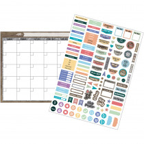 TCR77872 - Clingy Thing Calendar St Home Sweet Classroom in Calendars