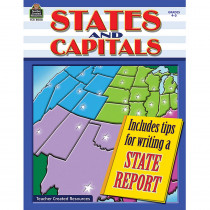 TCR8000 - States And Capitals Gr 4-5 in States & Capitals