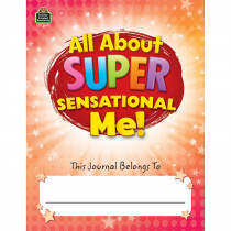 TCR8005 - All About Super Sensational Me Journal in Handwriting Paper