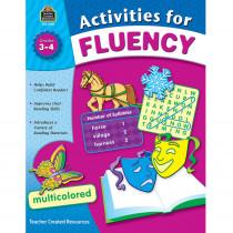 TCR8051 - Activities For Fluency Gr 3-4 in Activities